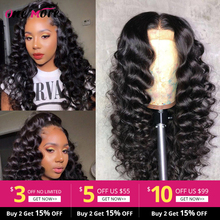Brazilian Loose Deep Wave Lace Front Human Hair Wigs For Bla
