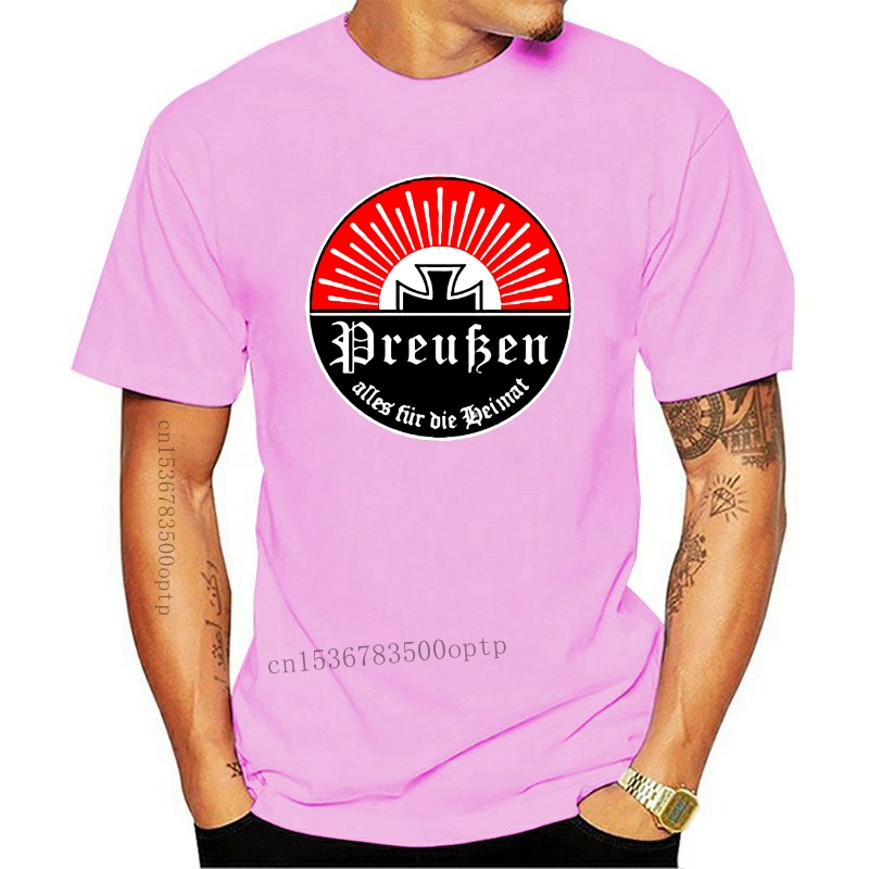 2020 Summer Brand Clothing Prussia Alles for Die Heimat Friedrich Der Size - T Shirt Novelty T Shirt