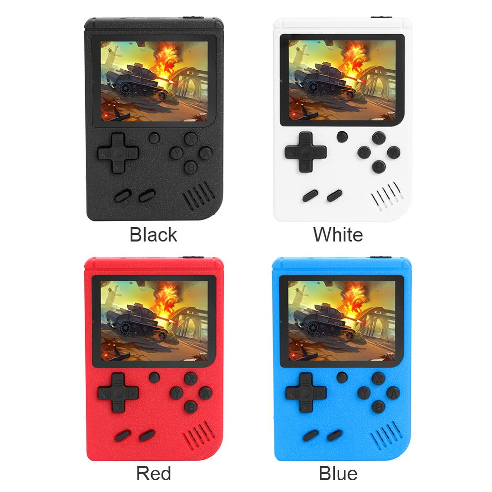 New 3 inch Handheld Retro Game Consoles 8 Bit Game Player Built-in 400 Games Classic Handheld Game Players Gamepads for Children