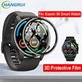 Защитная 3d-пленка для смарт-часов Xiaomi Mi, цветная спортивная версия, защита экрана HD, Гидрогелевая пленка для смарт-часов Mi Watch