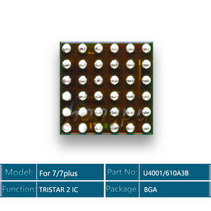 Image 3 - 10 יח\חבילה 610A3B/U4001 U2 IC 36 סיכות עבור iphone 7/7 בתוספת/7 בתוספת USB מטען/ טעינה TRISTAR 2 IC שבב