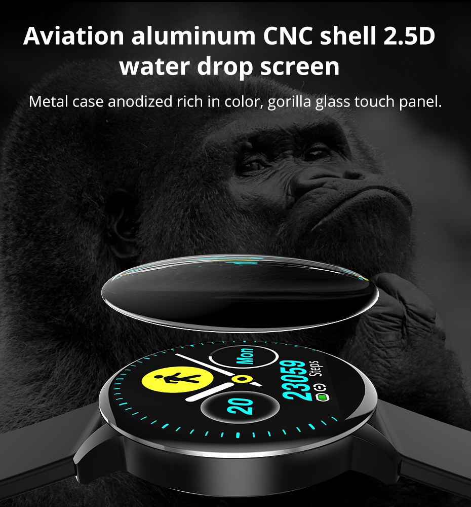 Makibes T5 PRO Advanced Milanese magnetic Fitness Tracker Smart Watch Blood Pressure Monitor Smartwatch Fashion PK Q8 Bracelet05