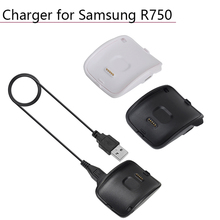 5V 700MA Portable Charging Dock Charger Cradle Charger Cable for Samsung Galaxy Gear S Smart Watch SM-R750 Magnetic Base Charger centechia portable quick charging with usb cable charging dock charger cradle for samsung galaxy gear s smart watch sm r750