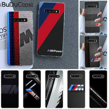 TOP car BMW Phone Case for Samsung GALAXY S10Plus E(lite) S7 S7edge S8 S8Plus S9 S9Plus S10 image