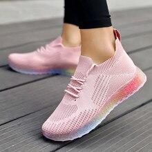 Горячая Распродажа tenis feminino брендовая легкая мягкая спортивная обувь Женская теннисная обувь женские устойчивые Прогулочные кроссовки дешевые# g4