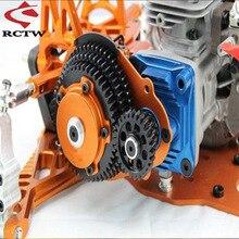 3 velocidade de transmissão conjunto engrenagem para gtb corrida hpi rofun rovan km baja 5b/5t/5sc rc carro brinquedos peças