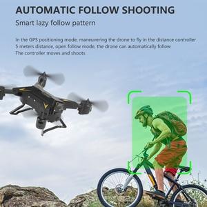Image 4 - KY601G طوي الطائرة بدون طيار مصباح ليد ذكي واي فاي 4K كاميرا التحكم عن بعد المزدوج لتحديد المواقع FPV أجهزة الاستقبال عن بعد الطائرات لعب طفل