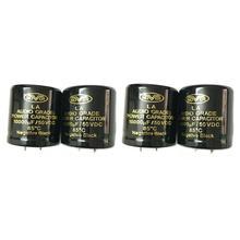 все цены на 4pcs Original 10000UF 50V 30x45mm DIY Audio Capacitor 85 Degrees Grade Power Cap онлайн