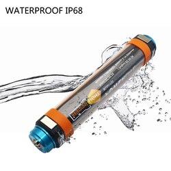 Camping light USB akumulator IP68 wodoodporna latarka LED przenośna latarnia T15T25T30 wielofunkcyjna lampa wisząca magnetyczna|Przenośne latarnie|Lampy i oświetlenie -