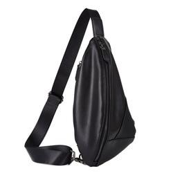 Высококачественная кожаная мужская водонепроницаемая кожаная дорожная сумка, модная повседневная сумка на ремне, сумка через плечо