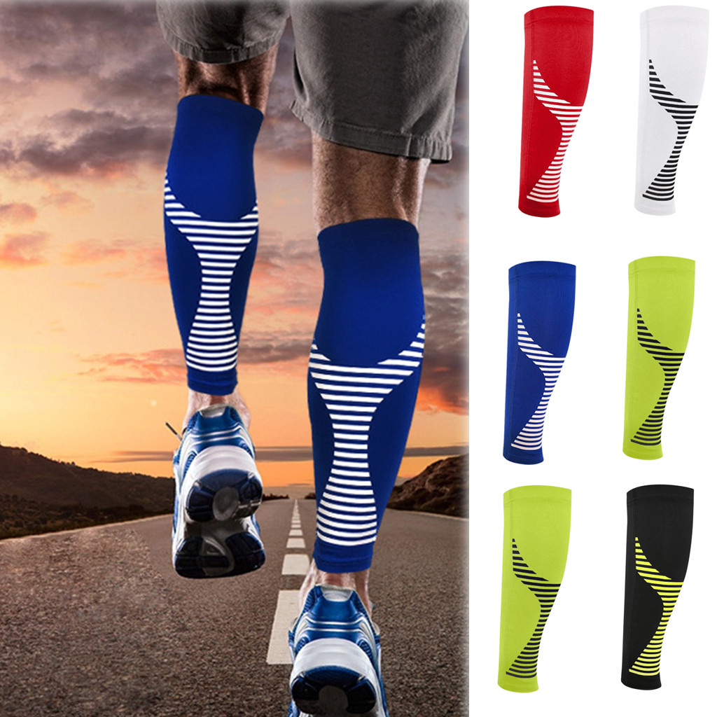 Calf Compression Sleeve Leg Performance Support Shin Splint & Calf Pain Relief гольфы  чулки Sexy StockingsЧулки