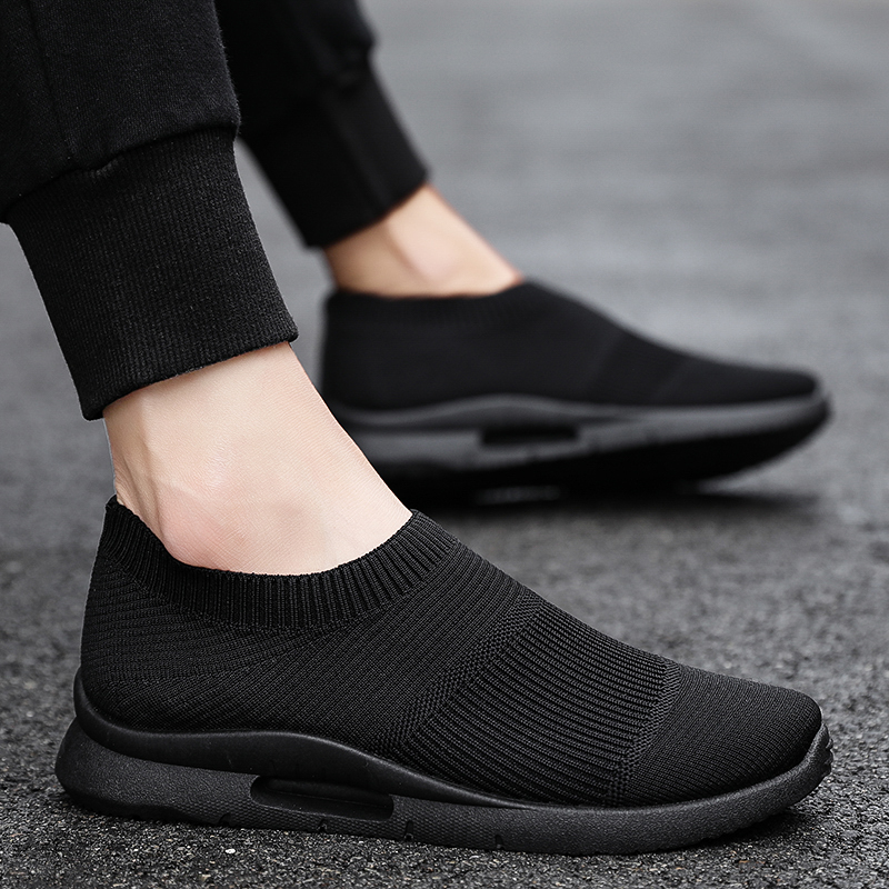 Damyuan Men Light Running Shoes Jogging Shoes Breathable Man Sneakers Slip on Loafer Shoe Men's Casual Shoes Size 46 2020 5