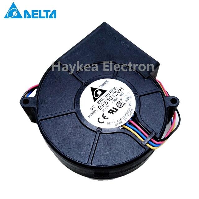 Pour delta Original BFB1012VH 9733 turbo ventilateur centrifuge 12V 1.80A capacité du vent 97*97*33mm