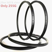 Только 255 г UD матовая 29er mtb диски 24 мм 27 мм 28 мм 30 мм 33 мм 35 мм 40 мм 50 мм диски из углеродного сплава горный велосипед Углеродные mtb 29er Углеродные Диски