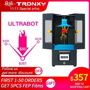 Impresora 3D ULTRABOT, pantalla táctil de resina a todo Color SLA/LCD, UV-LED, velocidad máxima de corte, Impresora 3d Light-Cure Impresora