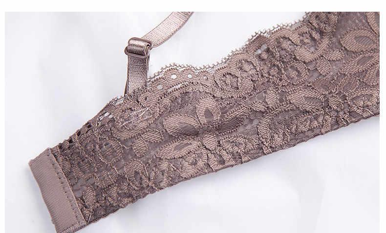Sexy lingerie sem fio conjunto de sutiã sem fio lenceria sexi para mujer íntimo donna bielizna mulher roupa interior conjunto soutien gorge push up