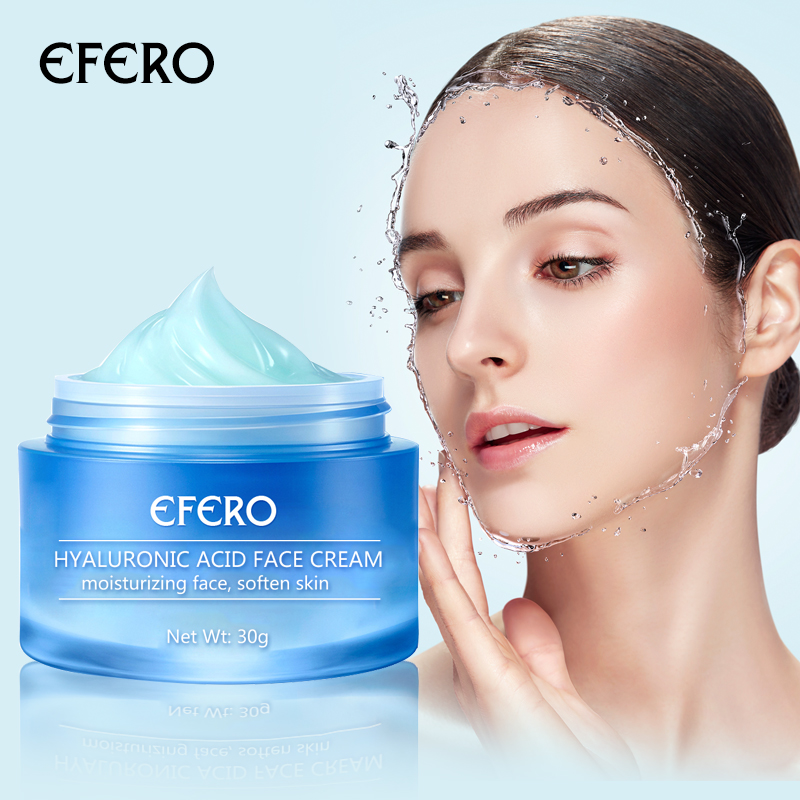 EFERO Hyaluronic Acid Face Day Cream Deep Moisturizing Whitening Filling Water Anti Wrinkle Cream Lift Firming Essence Skin Care in Facial Self Tanners Bronzers from Beauty Health