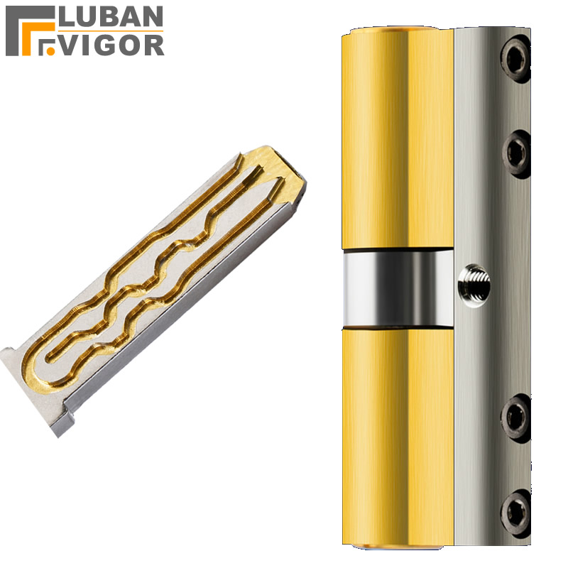 Super C Grade, Anti-theft Copper Lock Cylinder,Universal,Anti-Pry Lock Anti-technology Cracking,Security Door Lock Cylinder