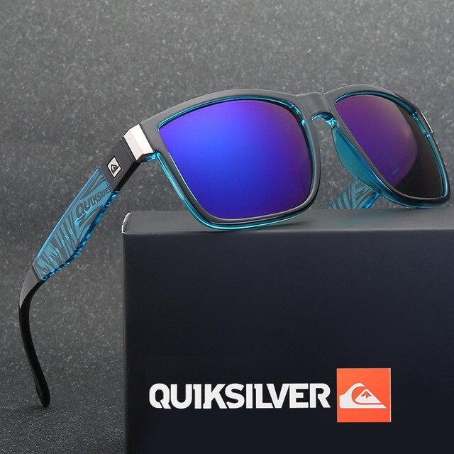 Gafas de sol cuadradas clásicas para hombre y mujer, lentes de sol coloridas para deportes al aire libre, playa, pesca, viajes, UV400 1