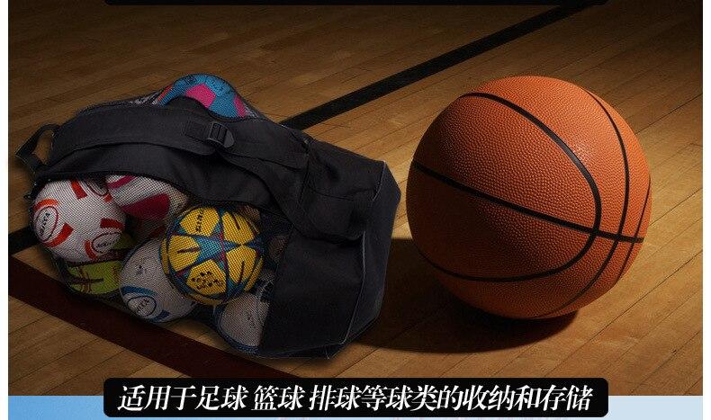 High Grade Net Pocket Bag Large Size Net Pocket Bag Net Pocket Football Large Ball Bag Large Football Storage Ball Bag Basketbal