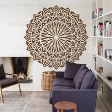 Plantilla de 160cm - 200cm para paredes, pintura grande de Mandala, decoración gigante, muebles de suelo, indio, árabe, étnico, S012