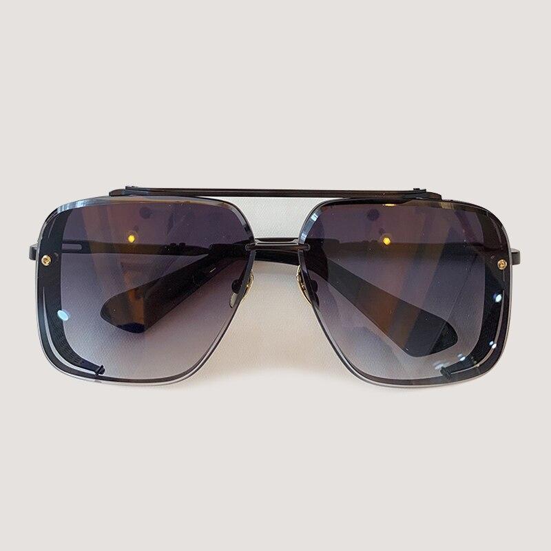 Мужские солнцезащитные очки модные квадратные солнцезащитные очки Oculos De Sol брендовые дизайнерские женские оттенки - 5