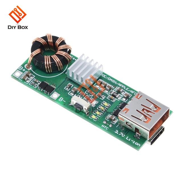 QC4.0 QC3.0 PD szybkie ładowanie USB pokładzie 3.7V do 5V 9V 4.5A 18W zwiększyć powerbank do telefonu moduł ładowarki