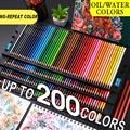 Aibelle 200/180/150/120/72 Цвет поверхность специальное масло для Цвет карандаши древесина мягкая вода Цвет карандаш для школы рисовать принадлежност...