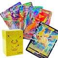 TOMY 490 шт. набор карт Pokemon во французском стиле с биркой 200 GX 100 110 V 40 VMAX 20 EX 20 MEGA