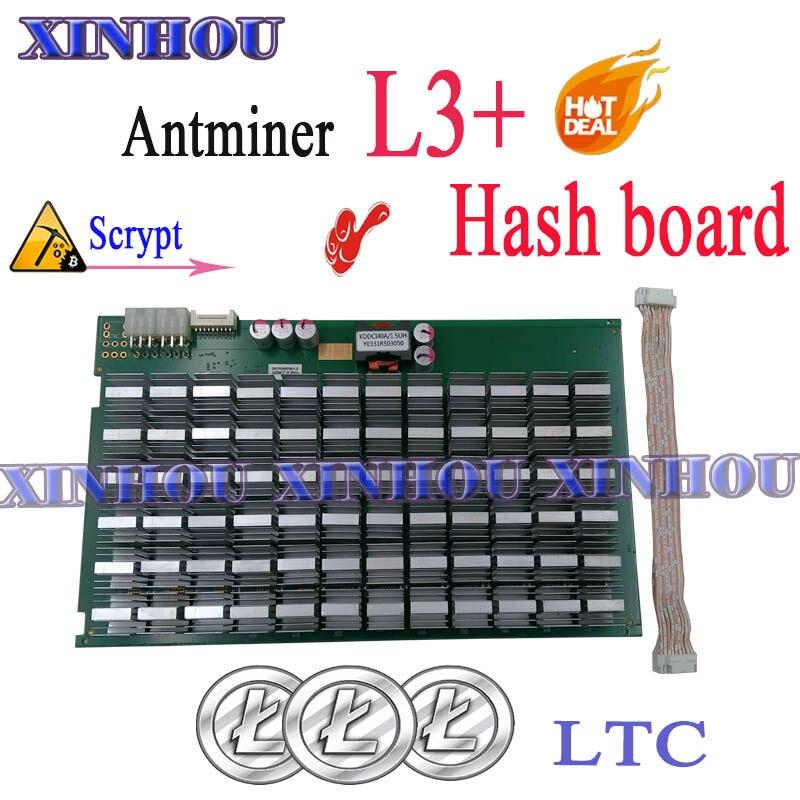 Asic para Substituir a Placa de Hash l3 + Placa de Hash Ruim de l3 + Litecoin Mineiro Bitmain Antminer Scrypt Ruim de l3 + Ltc