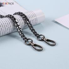 Łańcuch Crossbody na ramię pasek torby metalowy łańcuch na torebkę pasek uchwyt do DIY torebka torebka na ramię 120cm tanie tanio CN (pochodzenie) 70 g Metal Chain