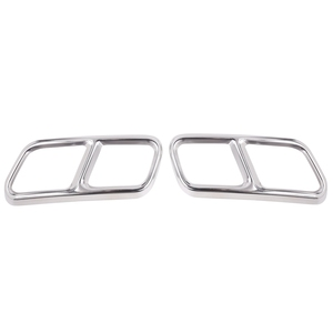 For Mercedes Benz S Class W222 Coupe R Class W251 10-17 Gl Class X166 13-15 Amg Part 304 Steel Exhaust Cover Trim