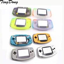 DIY מלא סט שיכון מעטפת כיסוי מקרה w/גומי מוליך pad כפתורים עבור Gameboy Advance GBA קונסולה
