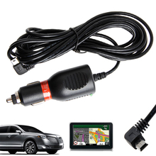 цена на Mini USB Car Vehicle DC Power Charger Adapter Cord Cable For GARMIN GPS Nuvi 2A Drop shipping