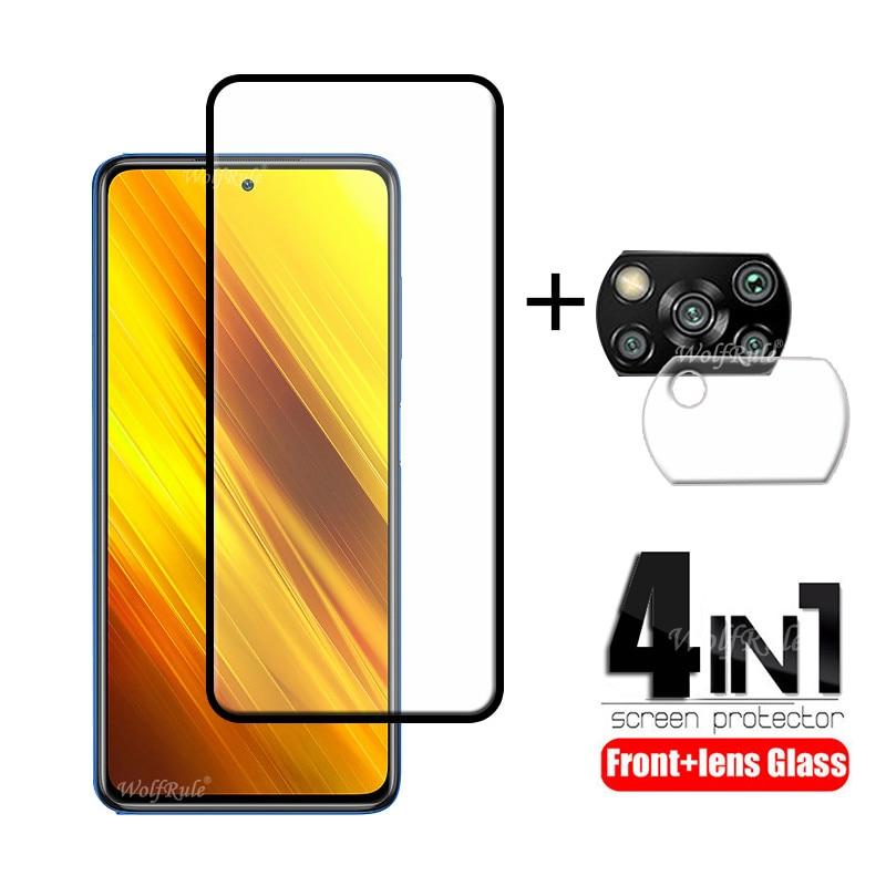4 в 1 для Xiaomi Poco X3 стекло для Poco X3 Закаленное стекло Защитная пленка на весь экран для Poco M2 F2 Pro X2 X3 стекло для объектива|Защитные стёкла и плёнки|   | АлиЭкспресс - Топ аксессуаров для смартфонов