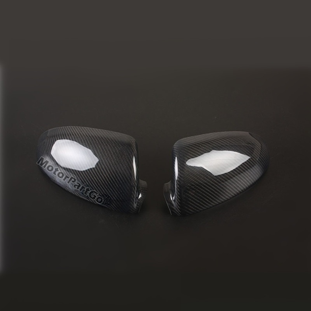 Real Crabon Fiber Mirror Cover 1 pair for Smart fortwo W451 2009-2013 2