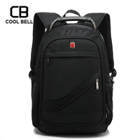Nylon Swiss 15.6 Inch Laptop Backpack School Bags Men Sports Travel Backpack Male Vintage School Bag 2020 Casual mochila escolar