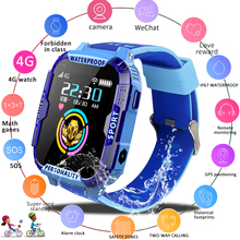 LIGE 2019 new 4G kids smart watch child SOS emergency call smartwatch GPS positioning tracking IP67 waterproof Gift