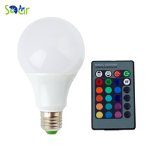 E27 RGB LED Bulbs Lamp 3W LED RGB Bulb Light 110V 220V Remote Control 16 Color Change Lampada LED Luz new rgb led lamp 3w 5w 7w e27 rgb led light bulb 110v 220v smd5050 multiple color remote control rgb lampada led a65 a70 a80