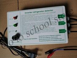 Detector de compresor de refrigerador inversor, herramienta para reparación de refrigerador, detección de válvula de solenoide de pulso
