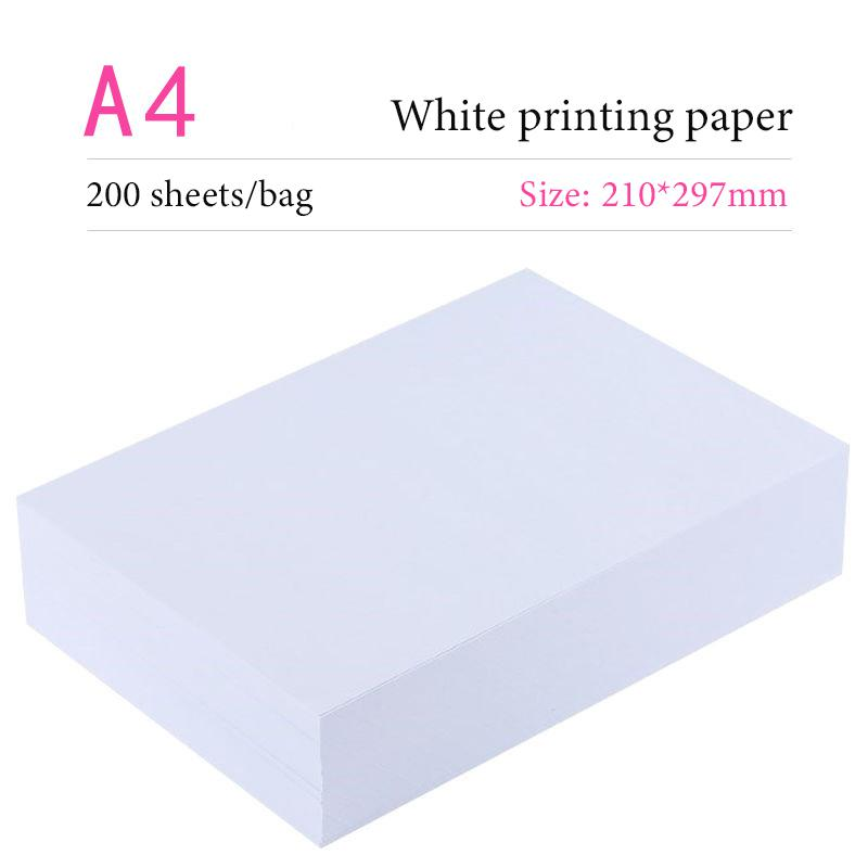 A4 A3 500pcs/Xerography Office Printing Paper 70g Draft  Sketch Paper Business Paper School Printing Paper Copy Paper
