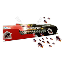 Insect-Pest-Repeller Bait House Cockroach Trap Sticky-Plate-Catcher Strong 1pc Non-Toxic