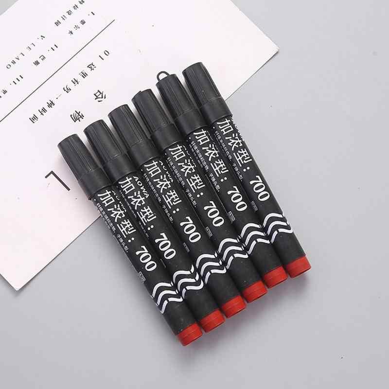 שני קצוות מארק בטוש בלתי מחיק עט שורת וו כתיבת צבע משרד לא שטף בית ספר בהיר ולדעוך לסטודנטים, משרה V1L9
