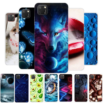 For Huawei Honor 9S Case Honor 9S 2020 Bumper Silicone TPU Soft Cover on For Huawei Honor 9S 9 S Honor9S 5.45 Cases Cartoon 9s