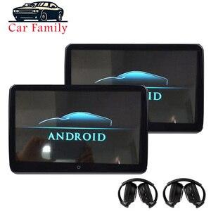 Автомобильный дисплей 10,6 дюйма, Android 6,0, HD 1080P, IPS сенсорный экран, поддержка WIFI USB/SD/HDMI/IR/FM/Bluetooth/MP5, автомобильный экран сиденья