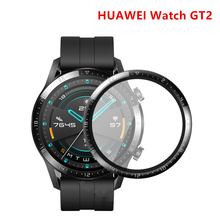 Watch Screen-Protector Tempered-Glass Full-Protective-Film 2-Band HUAWEI GT2 for 42/46-Mm