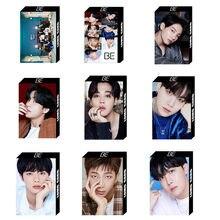 30 pçs/set novo kpop bangtan meninos jk ser pequeno lomo cartão photocard hd photo print álbum photocard para fãs presentes 8.5*5.4cm