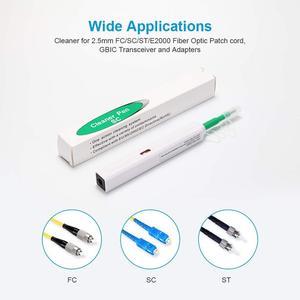 Image 5 - SC ST 및 FC 커넥터 용 원 클릭 광섬유 커넥터 클리너 펜 2.5mm 광섬유 클리너