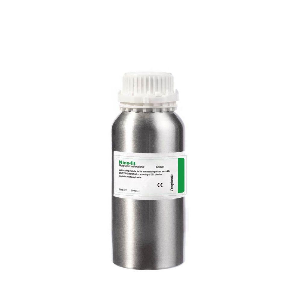 Nicefit UV Acrylic Resin UV Curing Resin Hearing Aid Earmold IEM Earphone Shell Material Wavelength 365 Nm