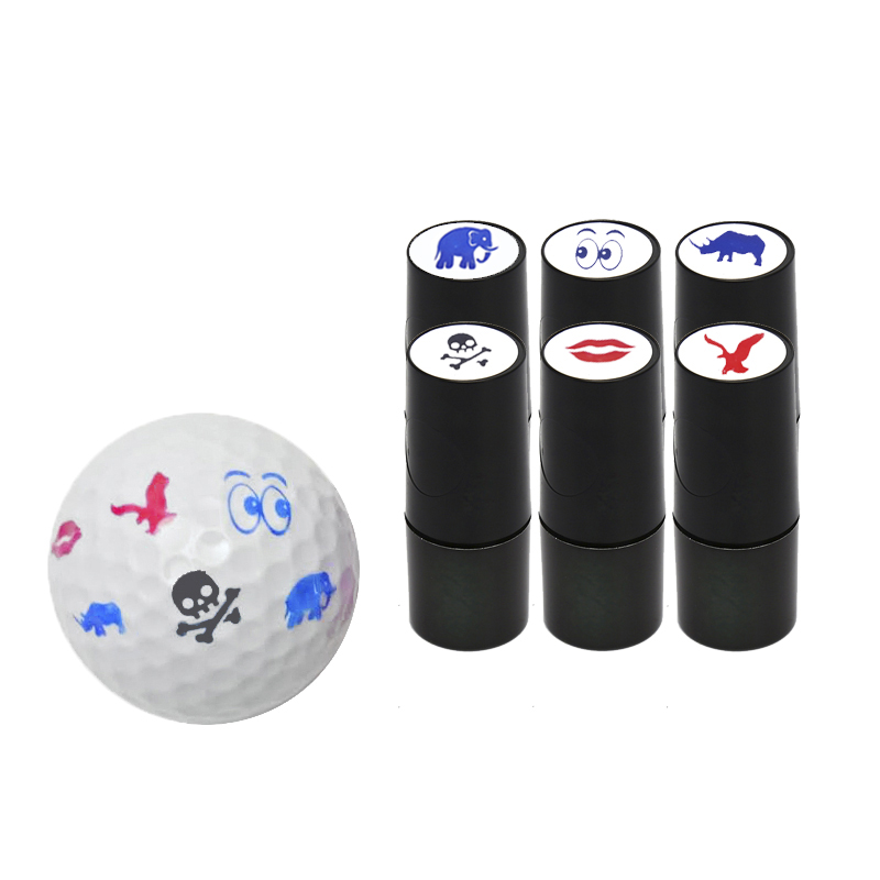 1 Pcs Golf Ball Stamps Colorfast Quick-dry  Long Lasting Stamper Balls Marker Impression Seal Gift Golf Accessories